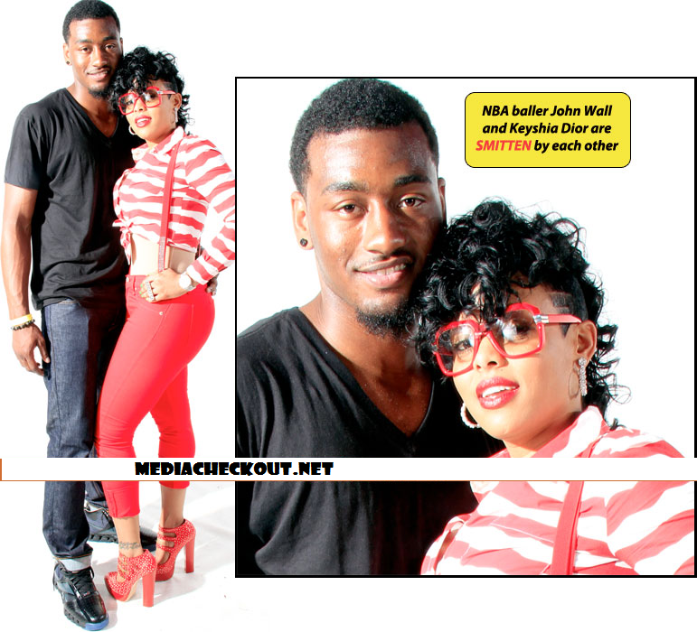 Nba Player John Wall Is Trickin Off On Gucci Manes Ex Girlfriend
