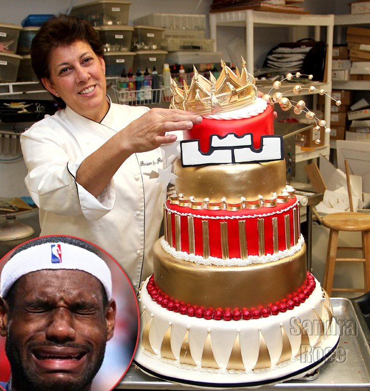 Lebron James Rejects 3000 Birthday Cake Made For Him Video