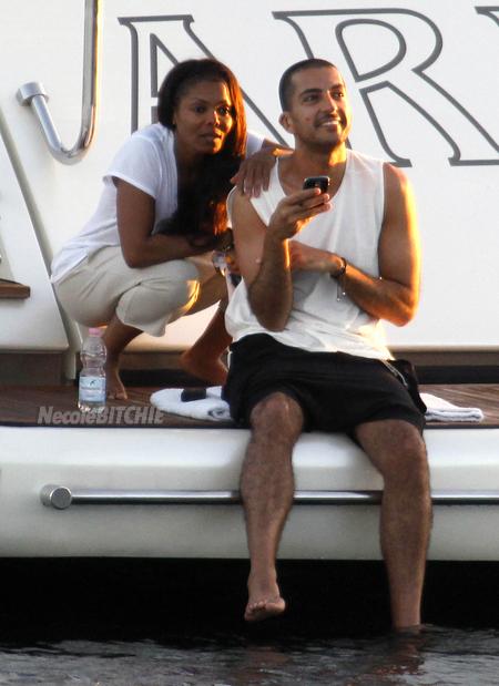 janet jackson and boyfriend wissam set sail while paris